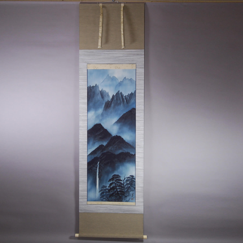 "Landscape Painting in ""Sumi"" (ink) / Yuri Tezuka"
