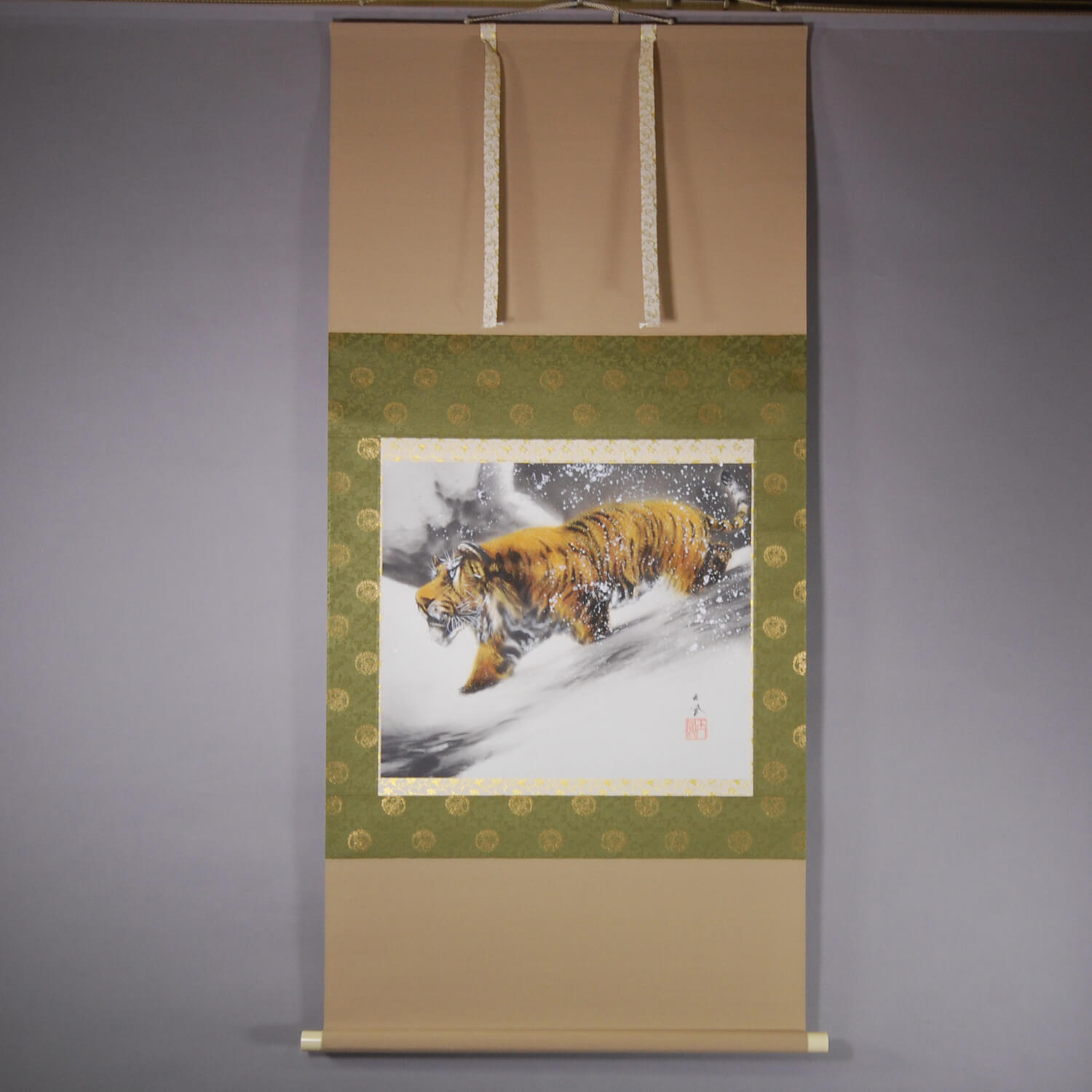 Tiger in Snow / Gyokuhou Horie