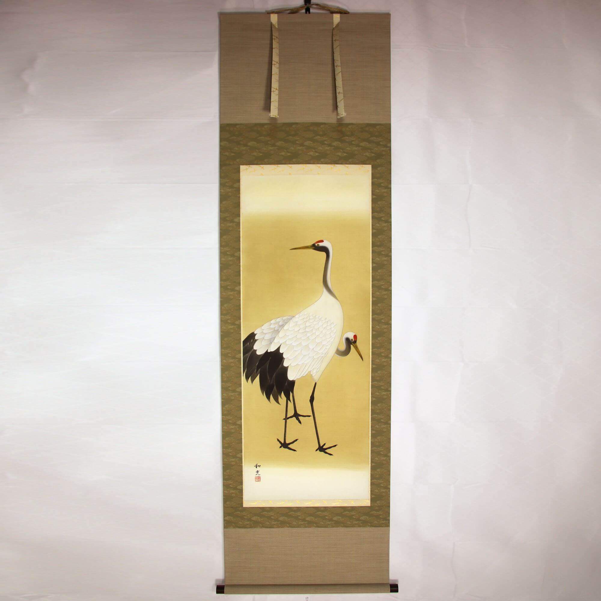 A Pair of Cranes / Wakou Miyake