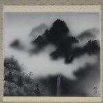 0001 Katō Tomo / Mountains and Clouds 002