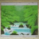 0005 Katō Tomo / Landscape Painting: Green Sound 0002