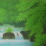0005 Katō Tomo / Landscape Painting: Green Sound 0003