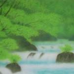 0005 Katō Tomo / Landscape Painting: Green Sound 0004