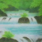 0005 Katō Tomo / Landscape Painting: Green Sound 0005