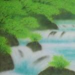 0005 Katō Tomo / Landscape Painting: Green Sound 0006