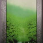 0010 Landscape Painting: Green Sound / Katō Tomo 003