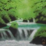 0010 Landscape Painting: Green Sound / Katō Tomo 005