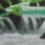 0010 Landscape Painting: Green Sound / Katō Tomo 006