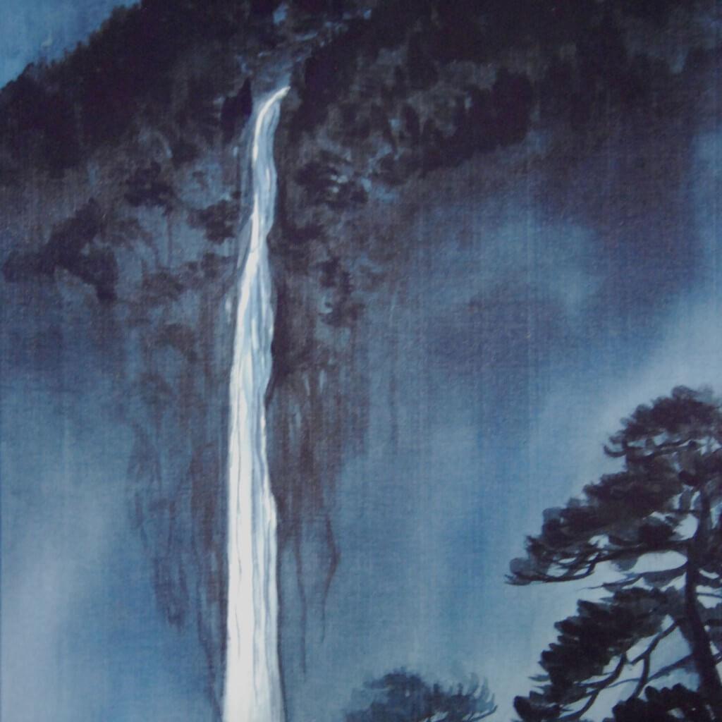 0019 Landscape Painting in Sumi (ink) / Yuri Tezuka 005