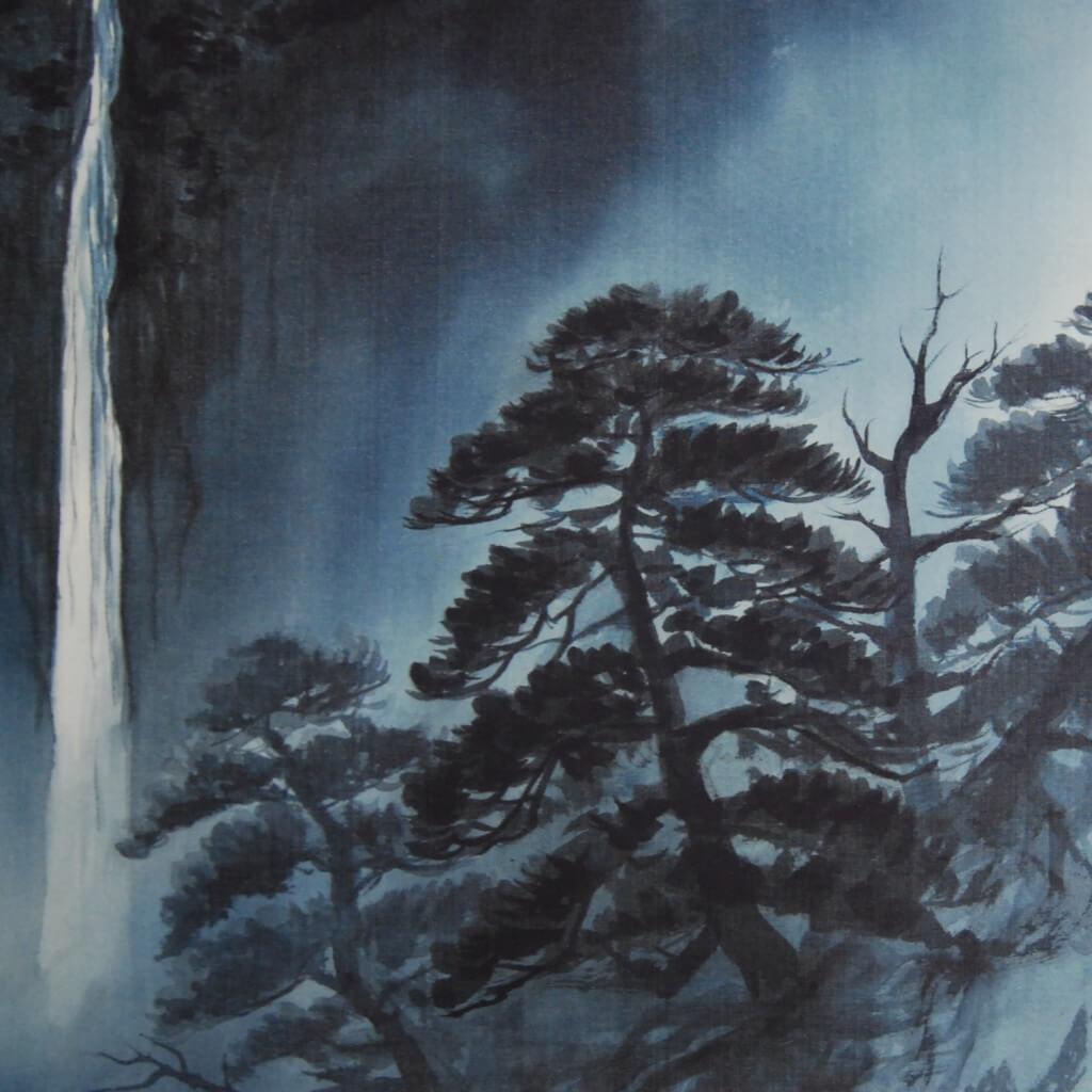 0019 Landscape Painting in Sumi (ink) / Yuri Tezuka 006