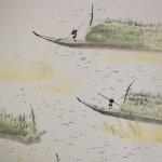 0036 Boats Used When Cutting Seaweed / Seika Tatsumoto 004