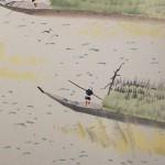 0036 Boats Used When Cutting Seaweed / Seika Tatsumoto 006