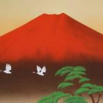 0042 Red Mt. Fuji / Katō Tomo 003