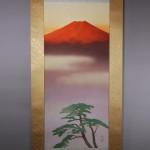 0047 Red Mt. Fuji / Katō Tomo 002