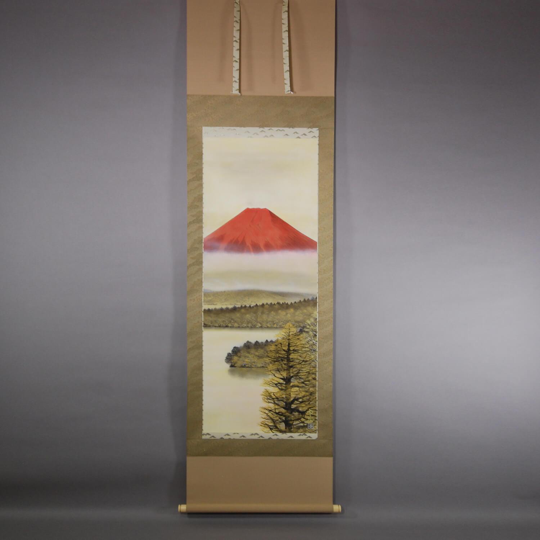 Red Mt. Fuji / Takuji Yoshimura
