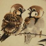 0052 Twitter of Sparrows / Katsunobu Kawahito 004