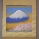0060 Mt. Fuji and Cherry Blossoms / Katō Tomo 002