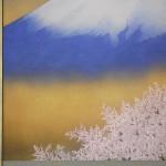 0060 Mt. Fuji and Cherry Blossoms / Katō Tomo 005