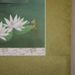 0079 Koi Fish (Carp): Water Lilies / Shukou Okamoto 007