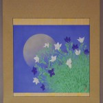 0104 Kakejiku with Mid-Autumn Moon Painting / Katō Tomo 002