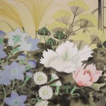 0106 Autumn Flowers Painting / Susumu Kawahara 004