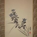 0108 Bellflower Painting & Calligraphy / Katsunobu Kawahito & Kakushou Kametani 003