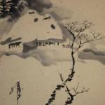 0120 Snow Village Painting & Calligraphy / Katsunobu Kawahito & Kakushou Kametani 006