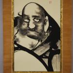 0132 Bodhidharma: Jakunen-fudou Painting / Sokushuu Akiyoshi 003