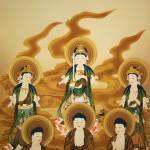 0141 13 Buddhas Painting / Hiroki Usui 003