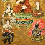 0141 13 Buddhas Painting / Hiroki Usui 006