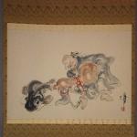 0161 Gourd and Catfish Painting / Katsunobu Kawahito 002