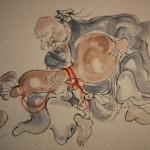 0161 Gourd and Catfish Painting / Katsunobu Kawahito 004