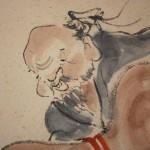 0161 Gourd and Catfish Painting / Katsunobu Kawahito 005