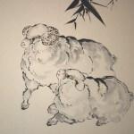 0162 Sheep Painting / Katsunobu Kawahito 003