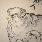 0162 Sheep Painting / Katsunobu Kawahito 005