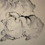 0162 Sheep Painting / Katsunobu Kawahito 006