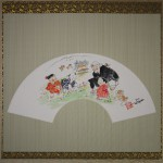 0164 Ryoukan: Gathering Flowers Painting / Katsunobu Kawahito 002