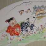 0164 Ryoukan: Gathering Flowers Painting / Katsunobu Kawahito 006