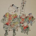 0166 Momotarou Painting / Katsunobu Kawahito 003