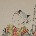 0166 Momotarou Painting / Katsunobu Kawahito 004