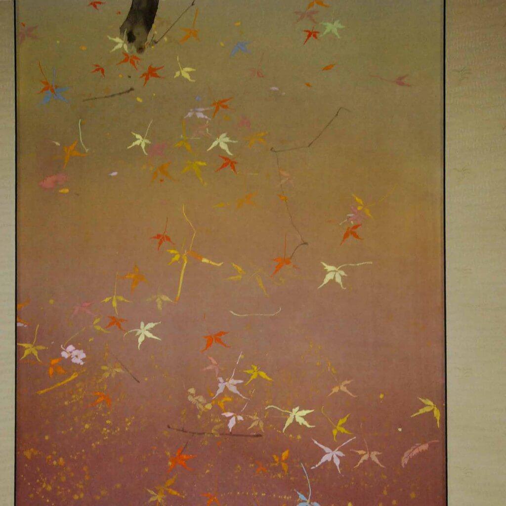 0110 Autumn Leaves Painting / Yukino Sakamoto 005