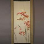 0121 Nandina and Snow Painting / Seika Tatsumoto 002