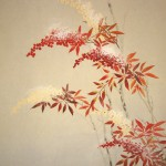 0121 Nandina and Snow Painting / Seika Tatsumoto 003