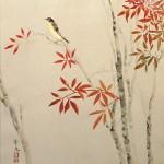 0121 Nandina and Snow Painting / Seika Tatsumoto 004