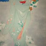 0122 Beautiful Woman Painting: Snow / Hideharu Morita 004