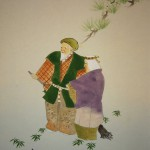 0130 A Nice Old Couple Painting / Seika Tatsumoto 004