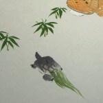 0130 A Nice Old Couple Painting / Seika Tatsumoto 006
