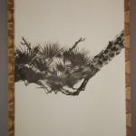 0131 Pine Tree and Cranes Painting / Hideki Miyamae 003