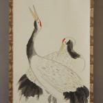 0131 Pine Tree and Cranes Painting / Hideki Miyamae 004