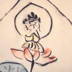 0138 Avalokitesvara: Lotus Painting / Koushou Shimizu 004